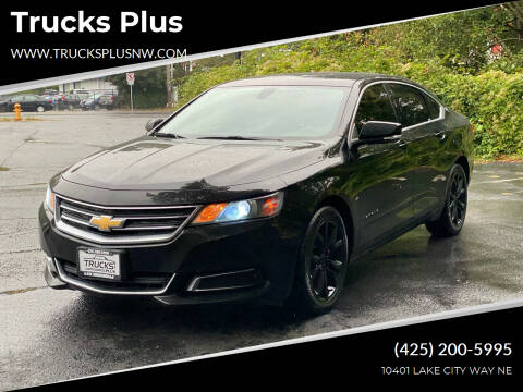 2017 Chevrolet Impala for sale at Trucks Plus in Seattle WA