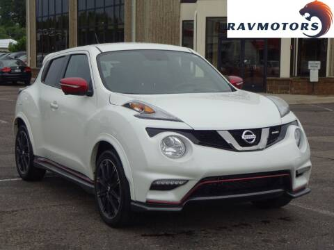 2017 Nissan JUKE for sale at RAVMOTORS 2 in Crystal MN