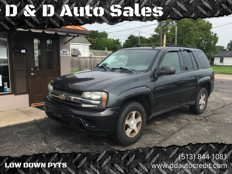 2006 Chevrolet TrailBlazer for sale at D & D Auto Sales in Hamilton OH