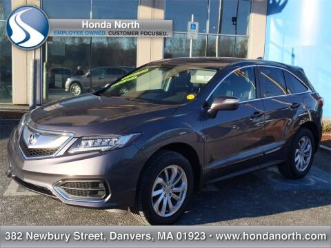 2018 Acura RDX for sale at 1 North Preowned in Danvers MA