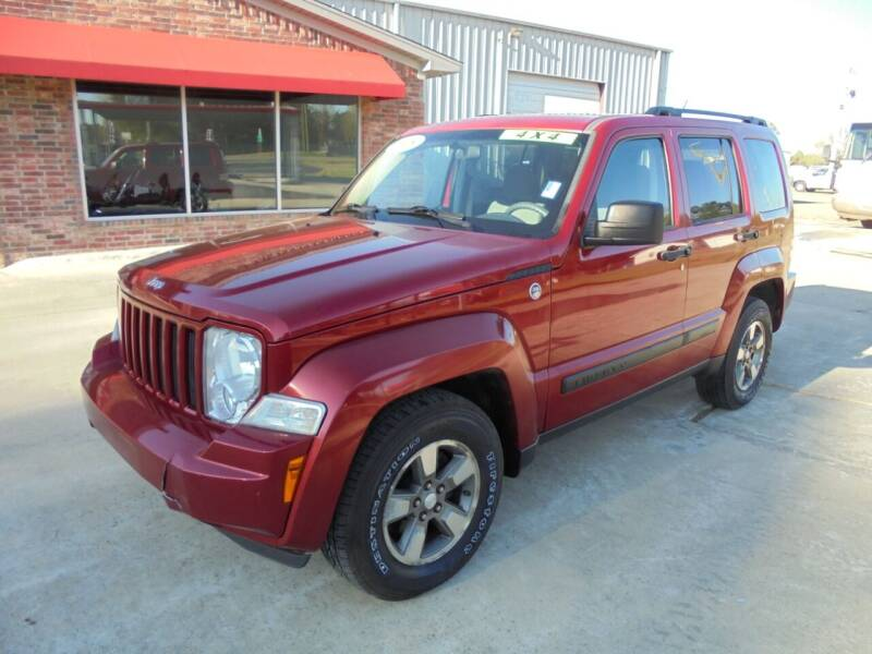 2008 Jeep Liberty for sale at US PAWN AND LOAN in Austin AR