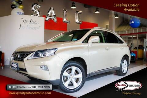 2013 Lexus RX 350 for sale at Quality Auto Center of Springfield in Springfield NJ