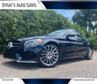 2017 Mercedes-Benz C-Class for sale at Omar's Auto Sales in Martinez GA