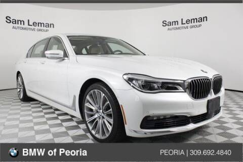 2016 BMW 7 Series for sale at BMW of Peoria in Peoria IL