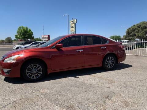 2015 Nissan Altima for sale at Top Gun Auto Sales, LLC in Albuquerque NM