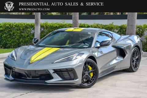 2022 Chevrolet Corvette for sale at Presidential Auto  Sales & Service in Delray Beach FL