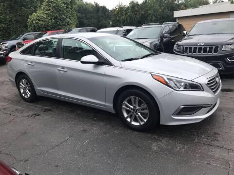 2017 Hyundai Sonata for sale at Magic Motors Inc. in Snellville GA
