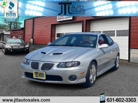 2006 Pontiac GTO for sale at JTL Auto Inc in Selden NY