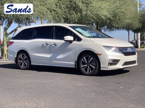 2018 Honda Odyssey for sale at Sands Chevrolet in Surprise AZ