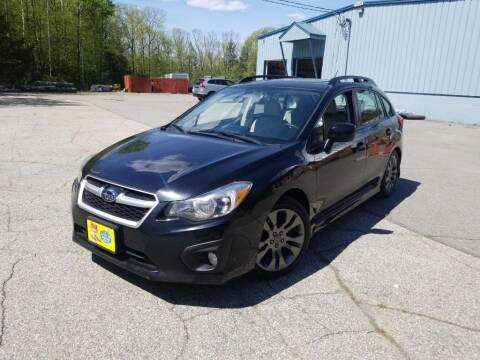 2014 Subaru Impreza for sale at Granite Auto Sales in Spofford NH