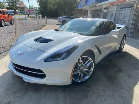 2015 Chevrolet Corvette for sale at INTERSTATE AUTO SALES in Pensacola FL
