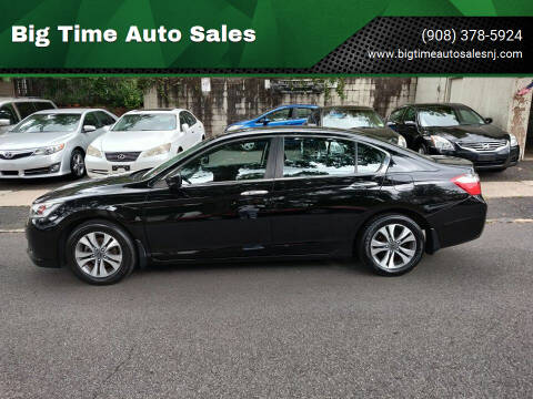 2013 Honda Accord for sale at Big Time Auto Sales in Vauxhall NJ