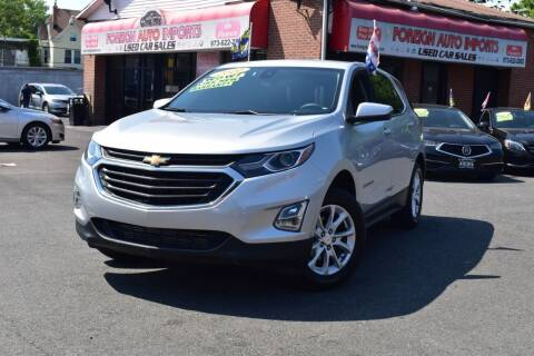2020 Chevrolet Equinox for sale at Foreign Auto Imports in Irvington NJ