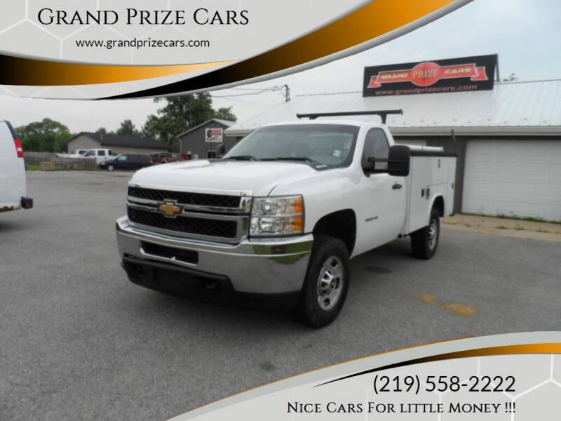 2011 Chevrolet Silverado 2500HD for sale at Grand Prize Cars in Cedar Lake IN