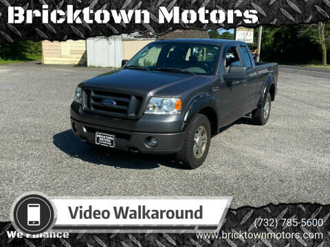 2008 Ford F-150 for sale at Bricktown Motors in Brick NJ