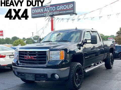 2010 GMC Sierra 2500HD for sale at Divan Auto Group in Feasterville Trevose PA