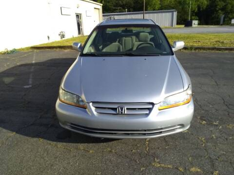 2002 Honda Accord for sale at Wheels To Go Auto Sales in Greenville SC