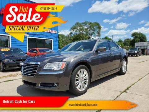 2013 Chrysler 300 for sale at Detroit Cash for Cars in Warren MI