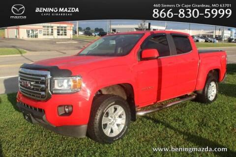 2016 GMC Canyon for sale at Bening Mazda in Cape Girardeau MO