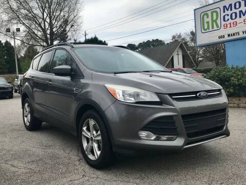 2013 Ford Escape for sale at GR Motor Company in Garner NC