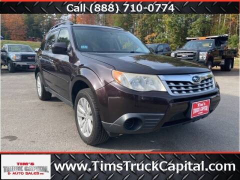 2013 Subaru Forester for sale at TTC AUTO OUTLET/TIM'S TRUCK CAPITAL & AUTO SALES INC ANNEX in Epsom NH