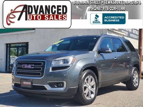 2013 GMC Acadia for sale at Advanced Auto Sales in Dracut MA