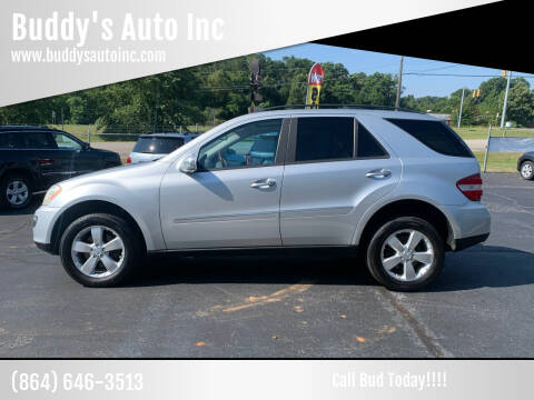 2006 Mercedes-Benz M-Class for sale at Buddy's Auto Inc in Pendleton, SC