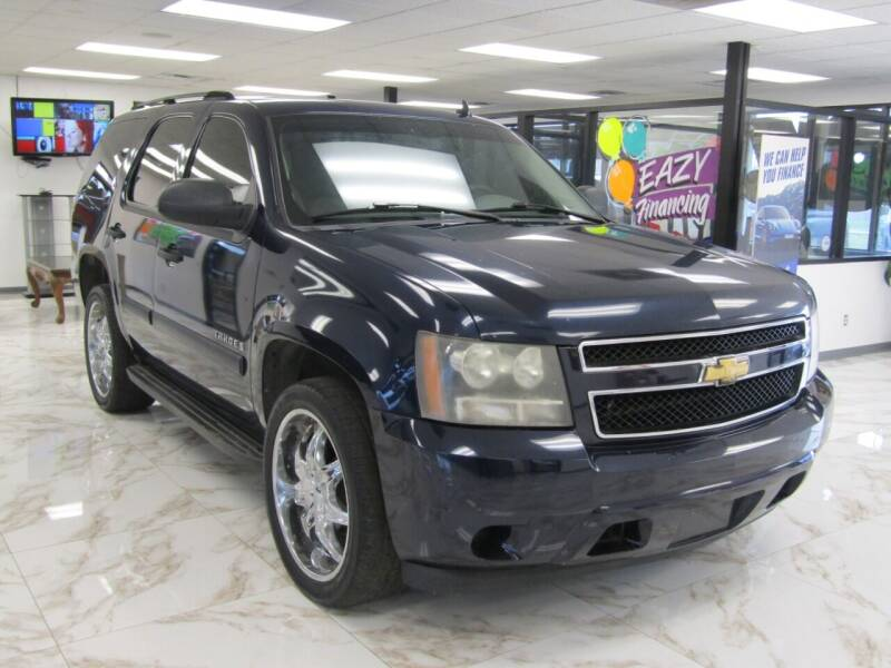 2007 Chevrolet Tahoe for sale at Dealer One Auto Credit in Oklahoma City OK