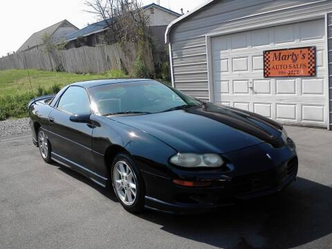 1998 Chevrolet Camaro for sale at Marty's Auto Sales in Lenoir City TN