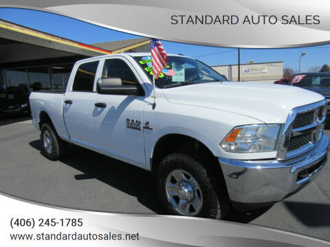 2015 RAM Ram Pickup 3500 for sale at Standard Auto Sales in Billings MT