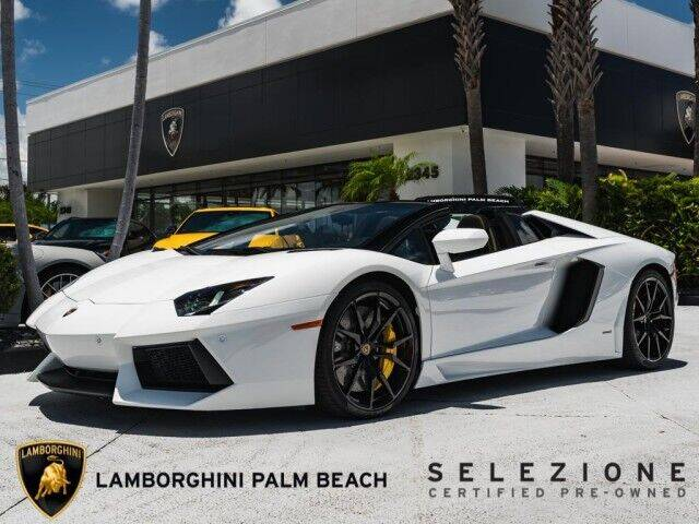 2015 Lamborghini Aventador for sale in West Palm Beach, FL