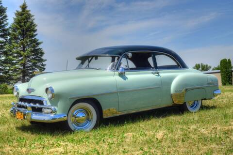 1952 Chevrolet Bel Air for sale at Hooked On Classics in Watertown MN
