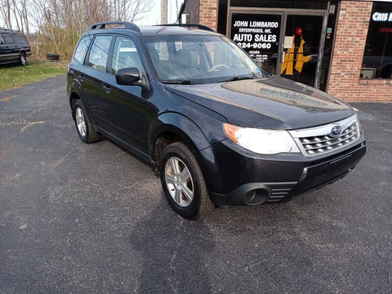 2013 Subaru Forester for sale at John Lombardo Enterprises Inc in Rochester NY
