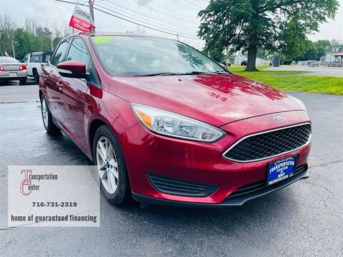 2015 Ford Focus for sale at Transportation Center Of Western New York in Niagara Falls NY