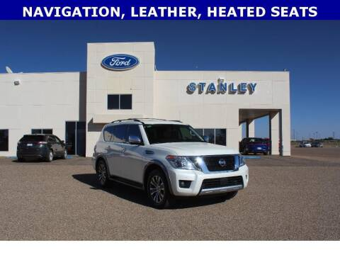 2018 Nissan Armada for sale at STANLEY FORD ANDREWS in Andrews TX