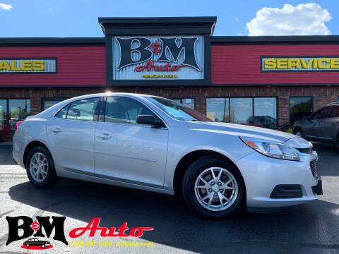2014 Chevrolet Malibu for sale at B & M Auto Sales Inc. in Oak Forest IL