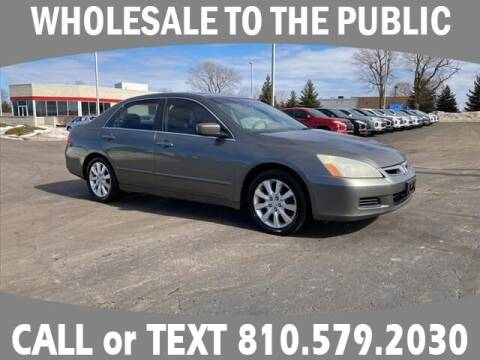2006 Honda Accord for sale at Lasco of Grand Blanc in Grand Blanc MI