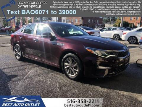 2019 Kia Optima for sale at Best Auto Outlet in Floral Park NY