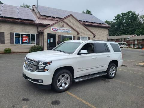 2017 Chevrolet Tahoe for sale at V & F Auto Sales in Agawam MA