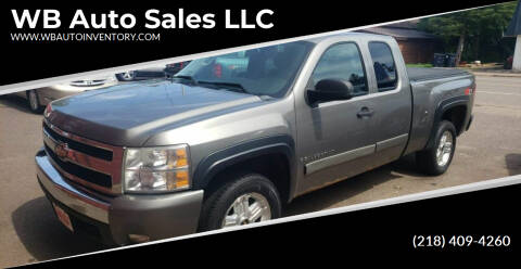 2008 Chevrolet Silverado 1500 for sale at WB Auto Sales LLC in Barnum MN