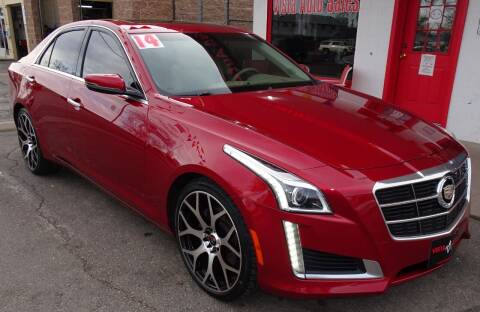 2014 Cadillac CTS for sale at VISTA AUTO SALES in Longmont CO