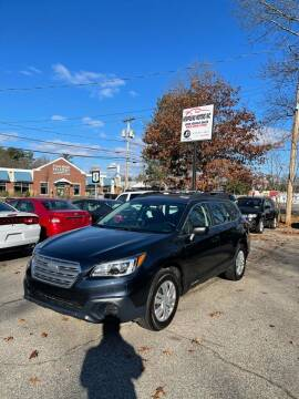 2016 Subaru Outback for sale at NEWFOUND MOTORS INC in Seabrook NH