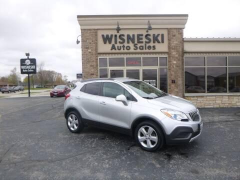 2015 Buick Encore for sale at Wisneski Auto Sales, Inc. in Green Bay WI