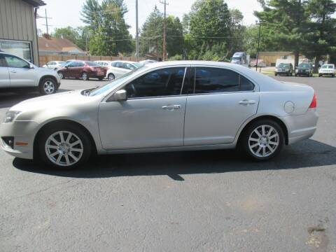 2010 Ford Fusion for sale at Home Street Auto Sales in Mishawaka IN