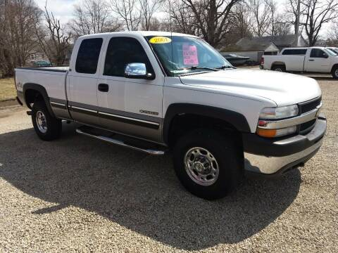 2001 Chevrolet Silverado 2500HD for sale at Economy Motors in Muncie IN