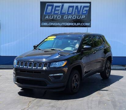 2018 Jeep Compass for sale at DeLong Auto Group in Tipton IN