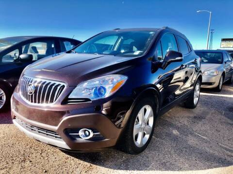 2015 Buick Encore for sale at Top Gun Auto Sales, LLC in Albuquerque NM