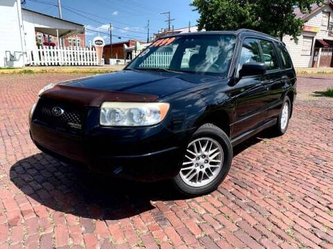 2007 Subaru Forester for sale at PUTNAM AUTO SALES INC in Marietta OH