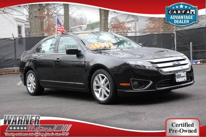 2012 Ford Fusion for sale at Warner Motors in East Orange NJ