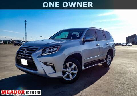 2018 Lexus GX 460 for sale at Meador Dodge Chrysler Jeep RAM in Fort Worth TX
